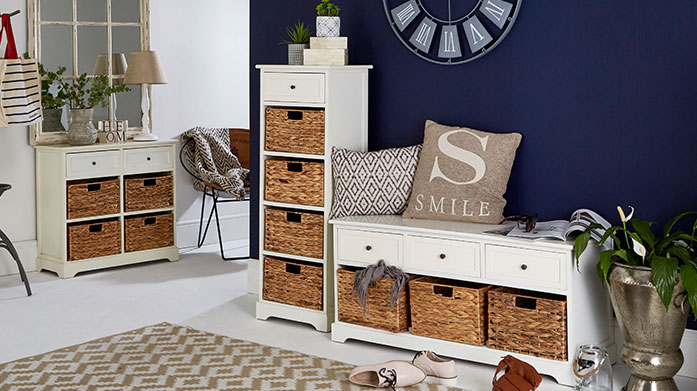 Stylish Storage for the Home Shop stylish furniture for your home, perfectly designed for all your storage needs.
