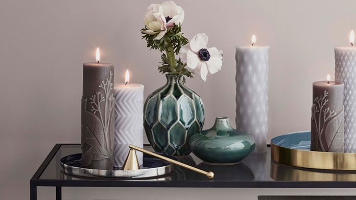 Treat Yourself: Luxury Homeware Splash out a little this payday and update your home with these luxe home accessories, lighting, mirrors and gifts.