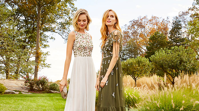 Adrianna Papell and Aidan Mattox Stunning and elegant occasionwear for your next evening event or Christmas party, courtesy of Adrianna Papell and Aidan Mattox.