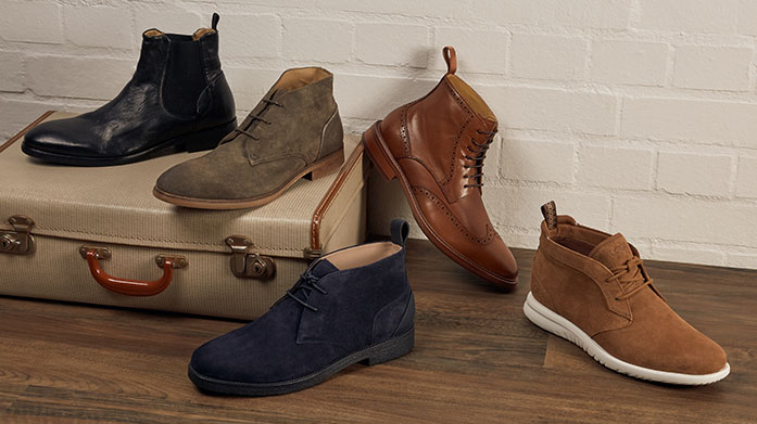Essential Men's Boot Offers Why wear trainers when you can have boots? We've got the best of the best on offer with styles from Oliver Sweeney, UGG and others...