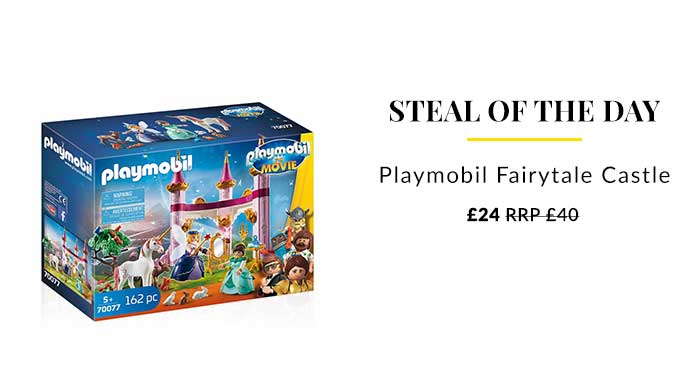 Playmobil Keep the kids entertained with our new collection of Playmobil toys! Find ghostbusters, princess game sets and more...