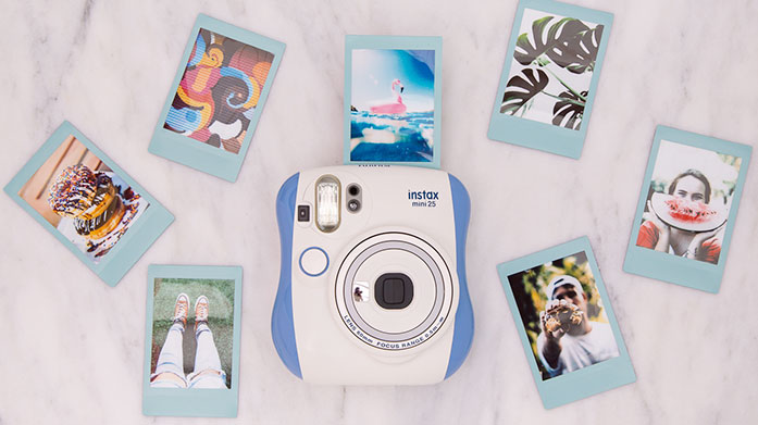 Stay at Home Snaps Use your time at home more productively and take some memorable pictures with Instant cameras and more from Instax and Polaroid.