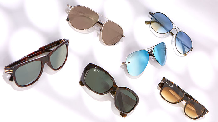 Sunglasses Clearance for Him Avoid squinting in the sun with sunglasses for him. Featuring Tom Ford, Saint Laurent and others, score cool points with these dapper styles.