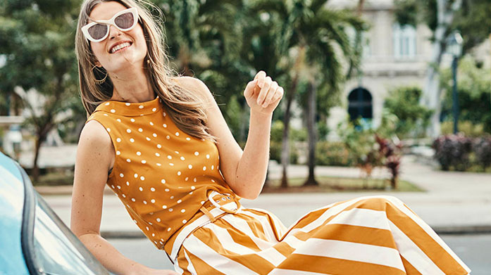 Boden Clothing Boden's womenswear puts fun into style and makes joy. Update your wardrobe with striped knitwear, colourful trousers, ditsy blouses and more!