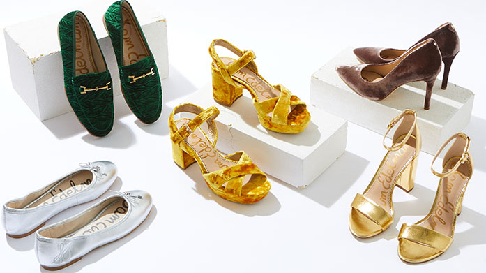 8249c3821ee1 Rely on Sam Edelman for all-American leather and suede shoes that make  impeccable weekend dressing a breeze.