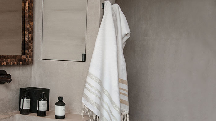 Bed & Bath Essentials  Take a peek into our linen cupboard for a luxurious selection of linens, towels and more!
