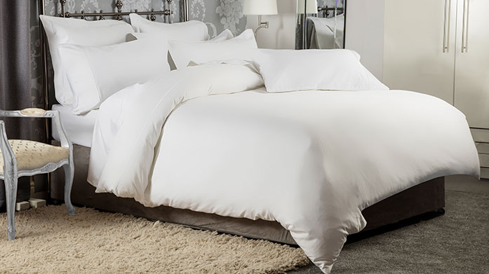 Luxury 1200 Thread Count Linens These silky soft 1200 TC sheets boast the most premium thread count for a sumptuously, decadent feel.