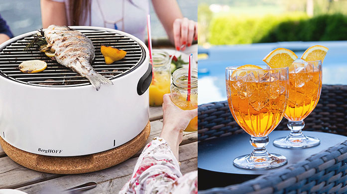 BBQ Essentials Prepare your home for the best barbecue ever with our party essentials. Shop grills, table decor and more, ticking off your checklist and cementing your place as the perfect host.